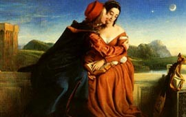 William Dyce, Paolo e Francesca (Edimburgo, National Gallery of Scotland)